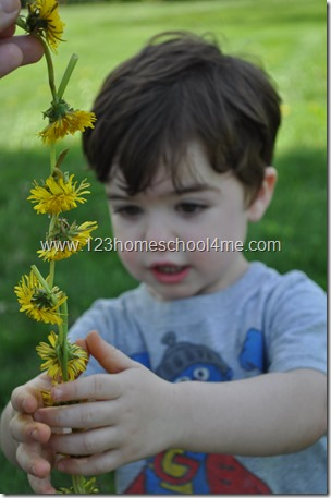 how to make a flower crown kids activitiy