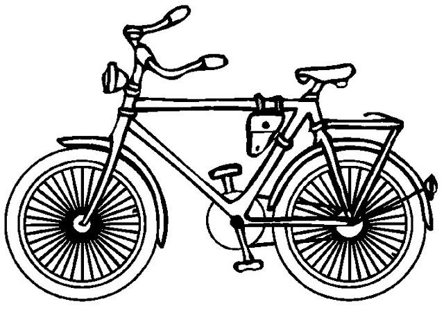 3 Juegos Para Que Los Niños Disfruten De La Bicicleta: COLOREAR DIBUJOS DE BICICLETAS
