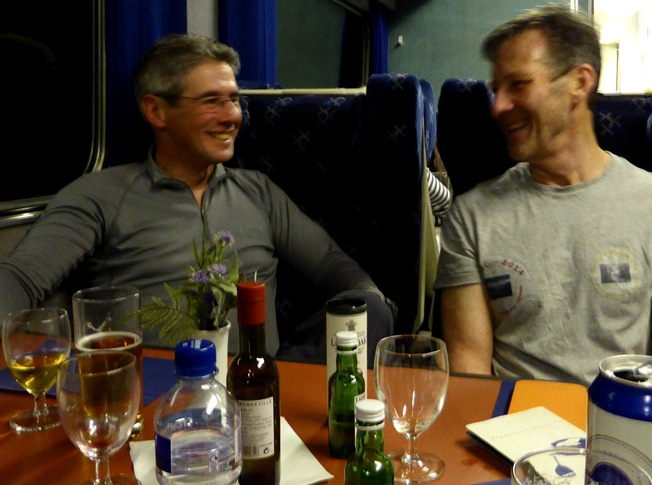 PHIL & ANDY, THE CALEDONIAN SLEEPER TO FORT WILLIAM