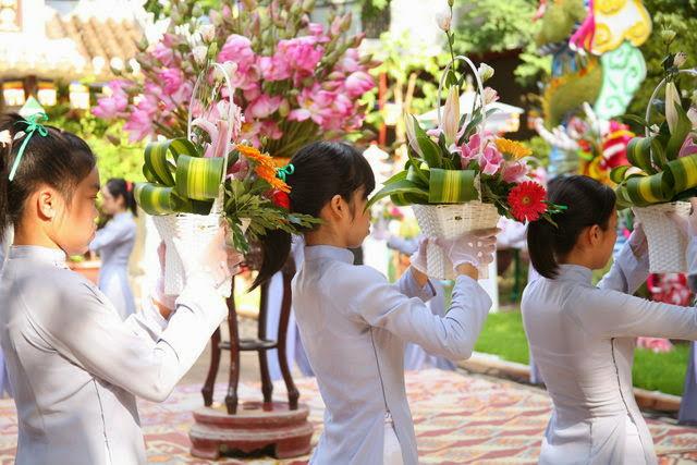 IMG 1793 Đại lễ Phật đản PL 2557 tại Tu viện Quảng Hương Già Lam