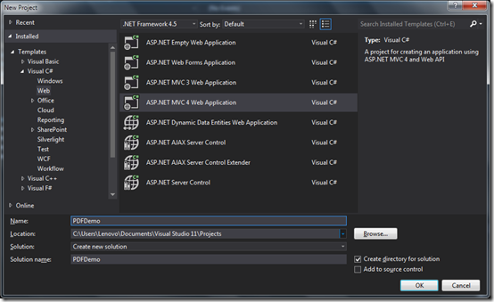 ASPNETPDFDemoApplication