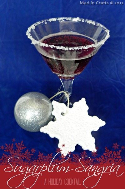 Sugarplum Sangria Holiday Cocktail