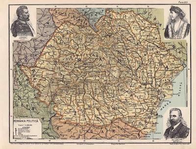 Harta Harta Veche A Romaniei 1900