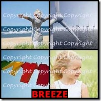 BREEZE- 4 Pics 1 Word Answers 3 Letters