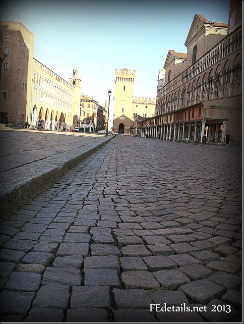 Il Listone di Ferrara - The Listone of Ferrara, Italy, Photo2