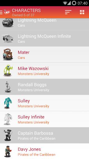 【免費書籍App】My Disney Infinity Collec. Pro-APP點子