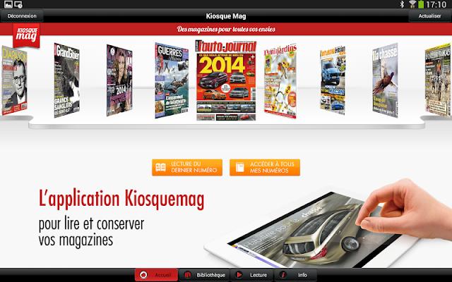 Kiosque Mag - screenshot