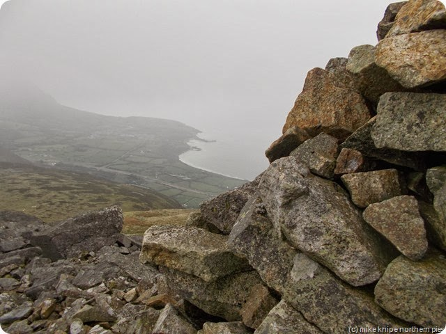 view from gyrn ddu cairn