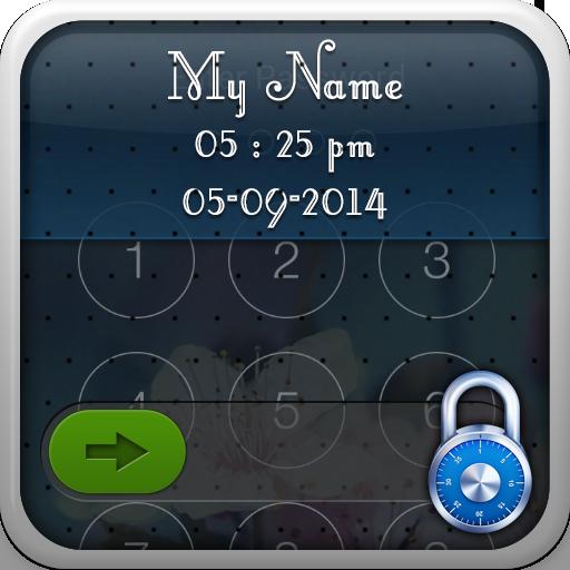 我的名字锁定屏幕 生活 App LOGO-硬是要APP