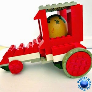 Lego Egg Race Winner