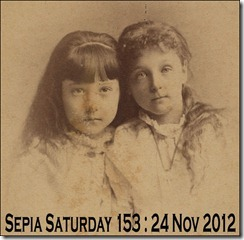 Sepia Saturday 153 November 24 2012