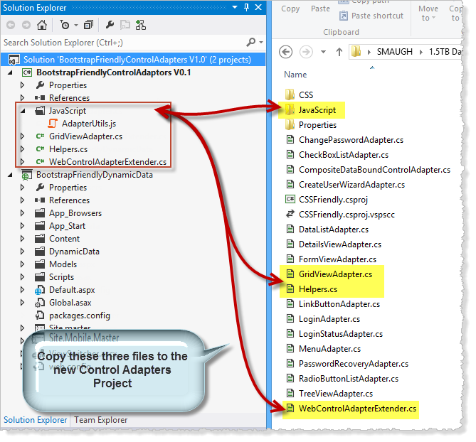 C# Bits: Tweaking the GridView Control Adaptor for Bootstrap