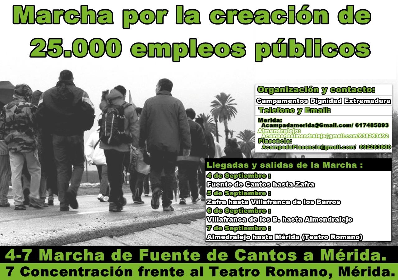 Marchas por el Empleo Público