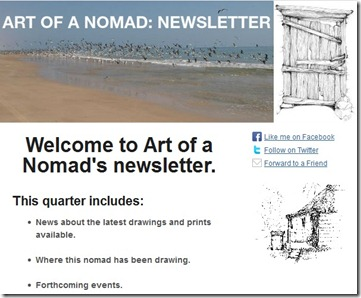 Newsletter preview normal size