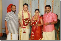 Balachandra Menon daughter Bhavana wedding1