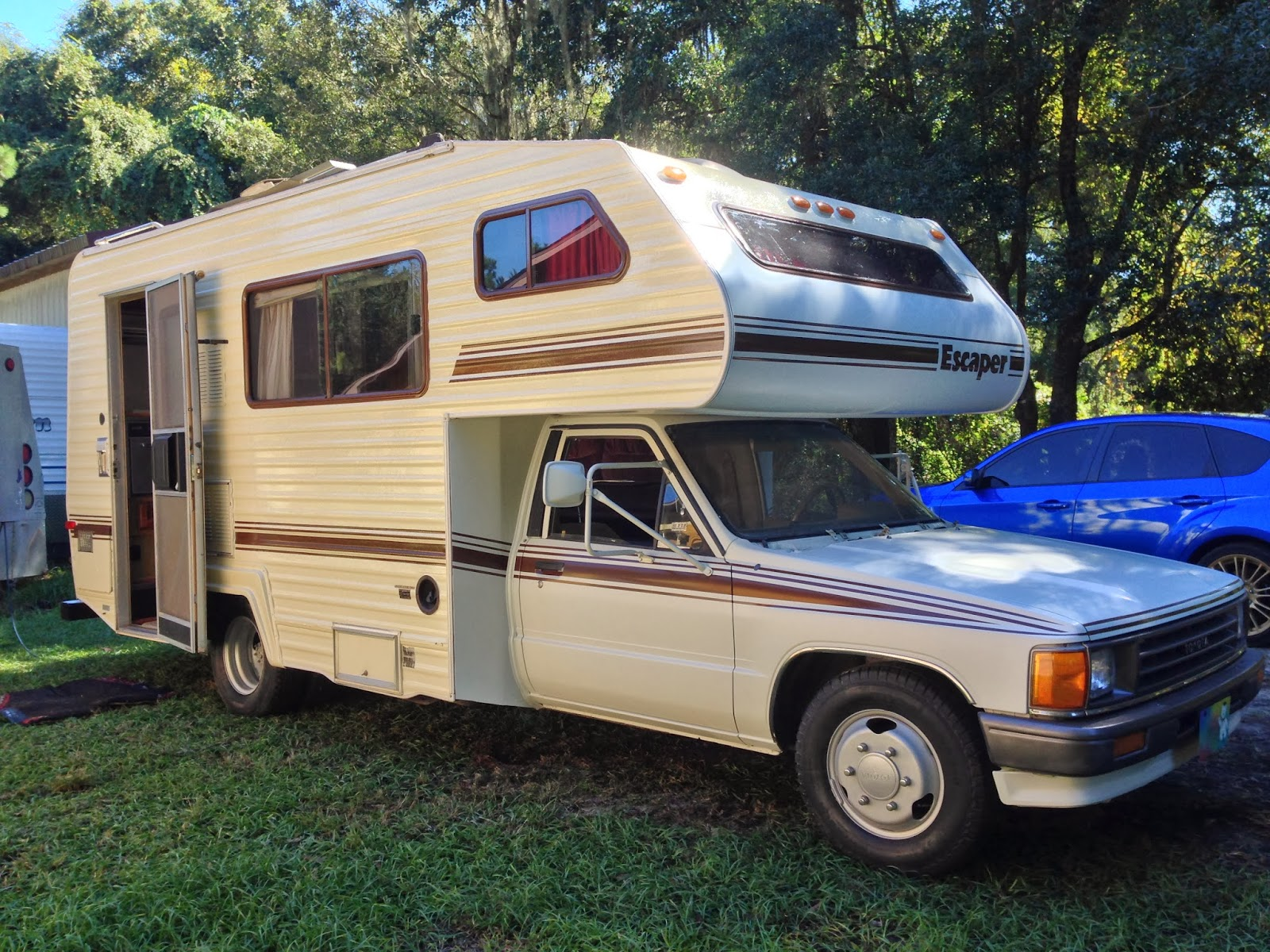 If you plan on driving a 1987 motorhome across the country, you