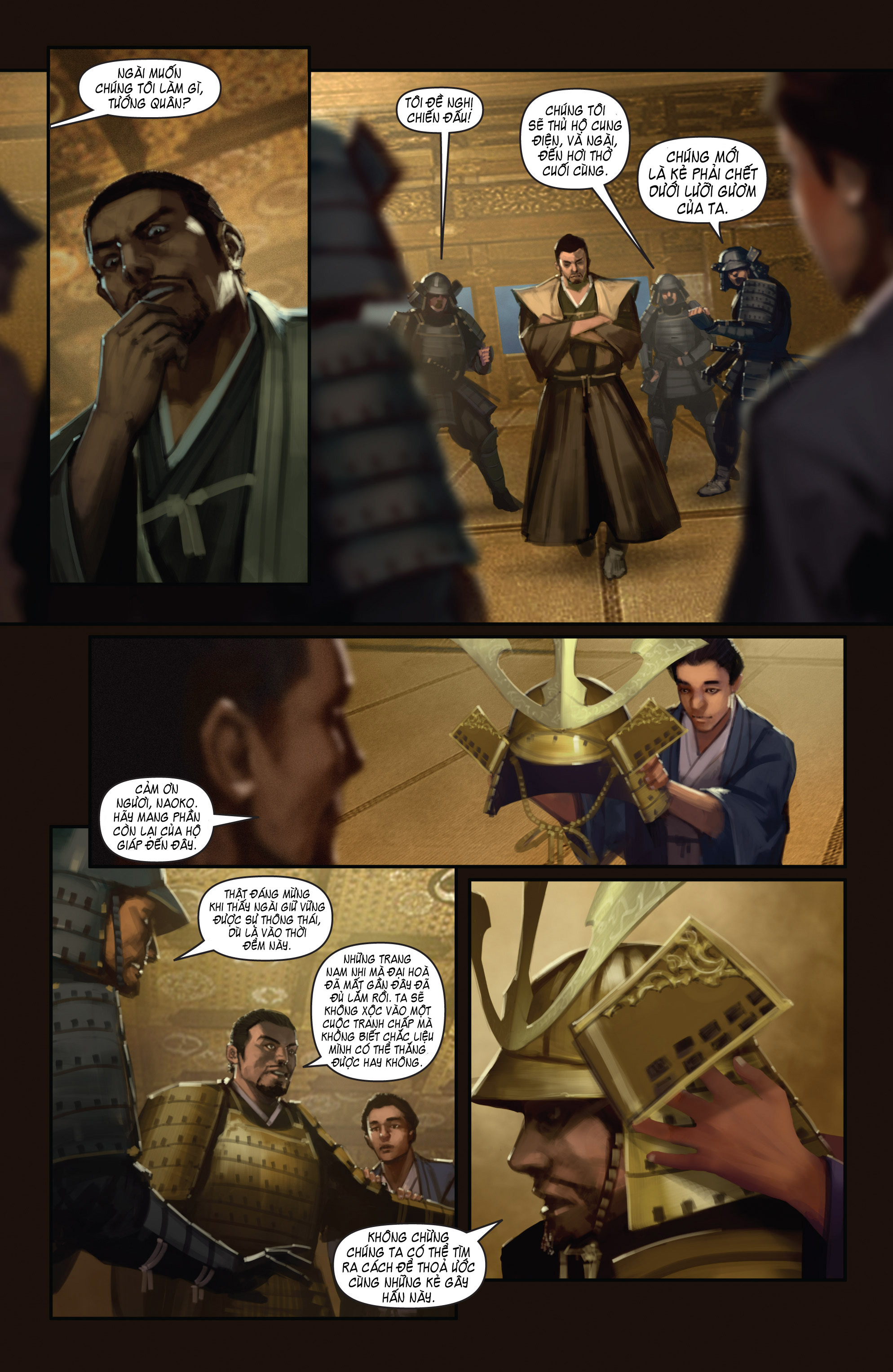 BUSHIDO - THE WAY OF THE WARRIOR chapter 5 - end trang 7