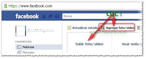 Subir video a Facebook