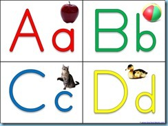 Flashcards for Kids / Printable Flash Cards / ABC FlashCards /