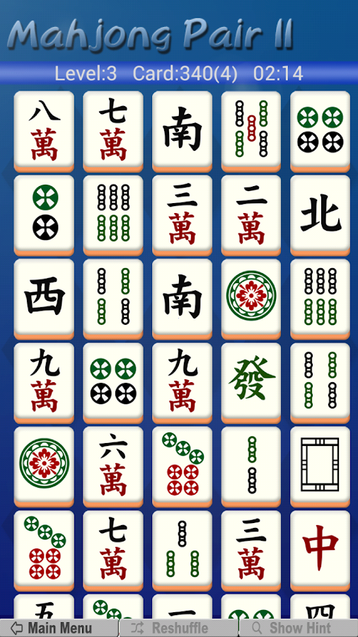 Mahjong Pair 2 - screenshot