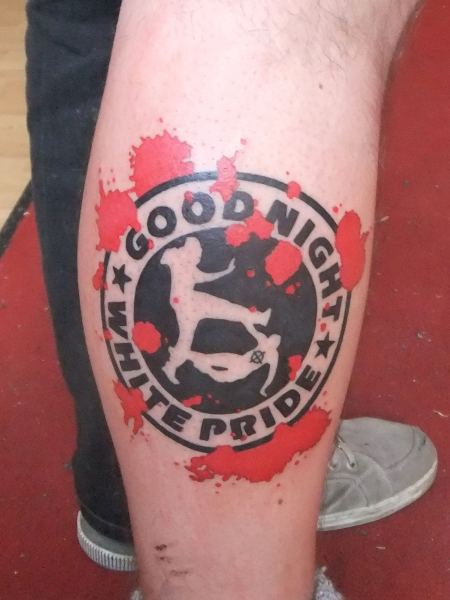 White Pride Tattoos Designs Tattoo good night white pride