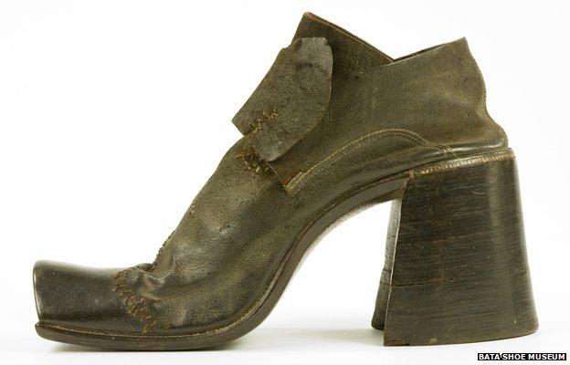 Туфли XVI века