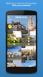 MétéoCity- screenshot thumbnail