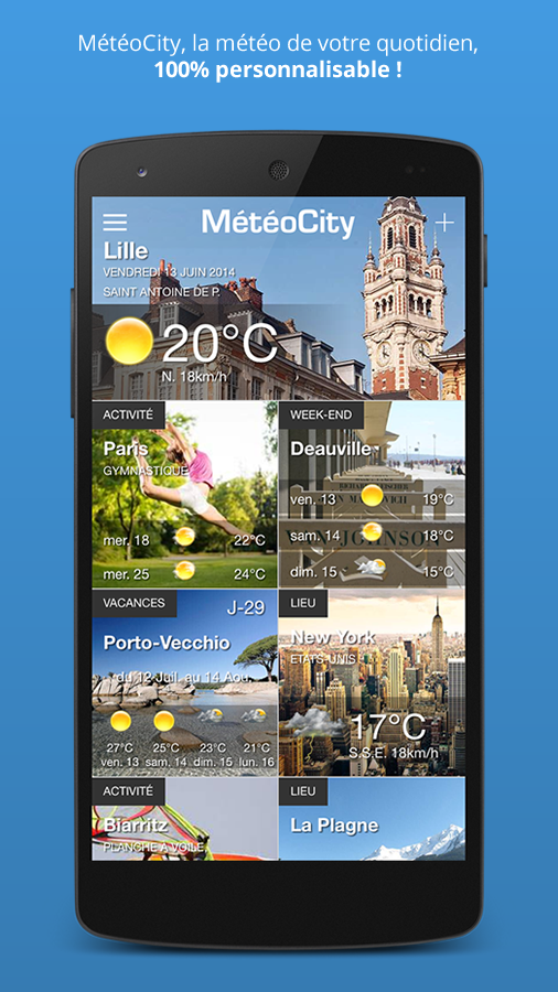 MétéoCity- screenshot