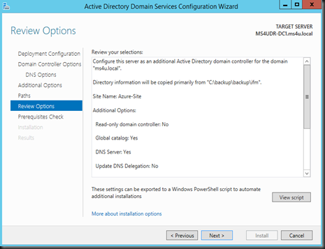 HYPER-V,SYSTEM CENTER AND AZURE: Create an Additional Domain
