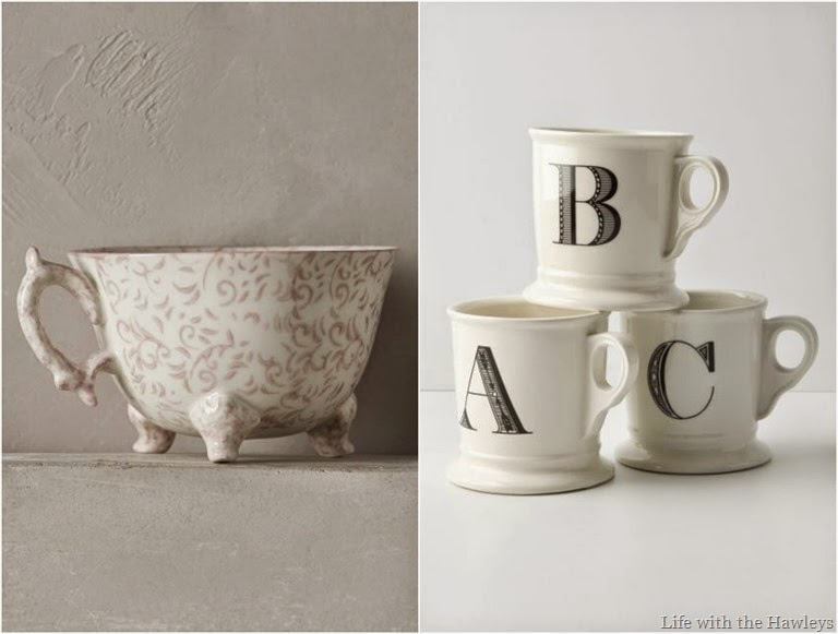 Anthropologie Mugs 1