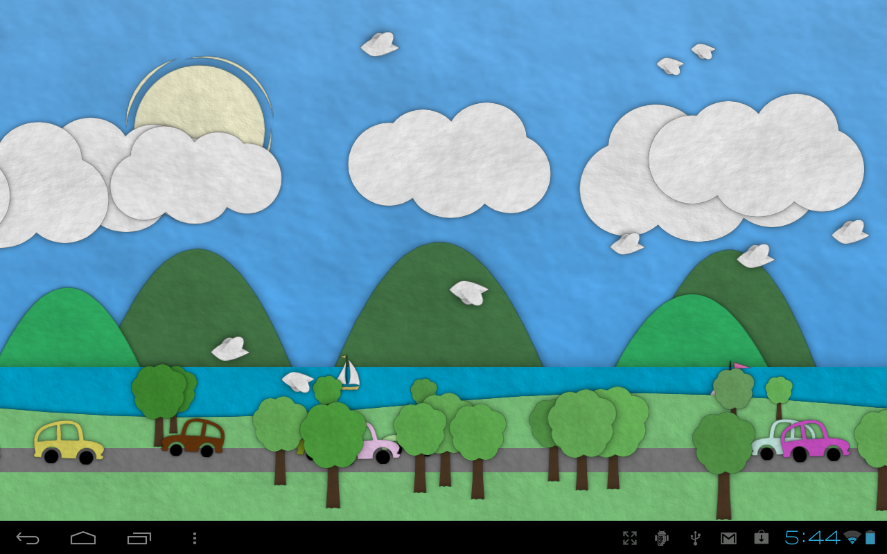 Paperland Live Wallpaper - Android Apps on Google Play