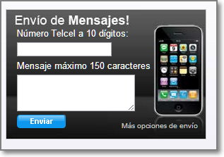 SMS Telcel Mexico