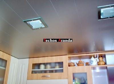 Falsos techos de aluminio Alacant