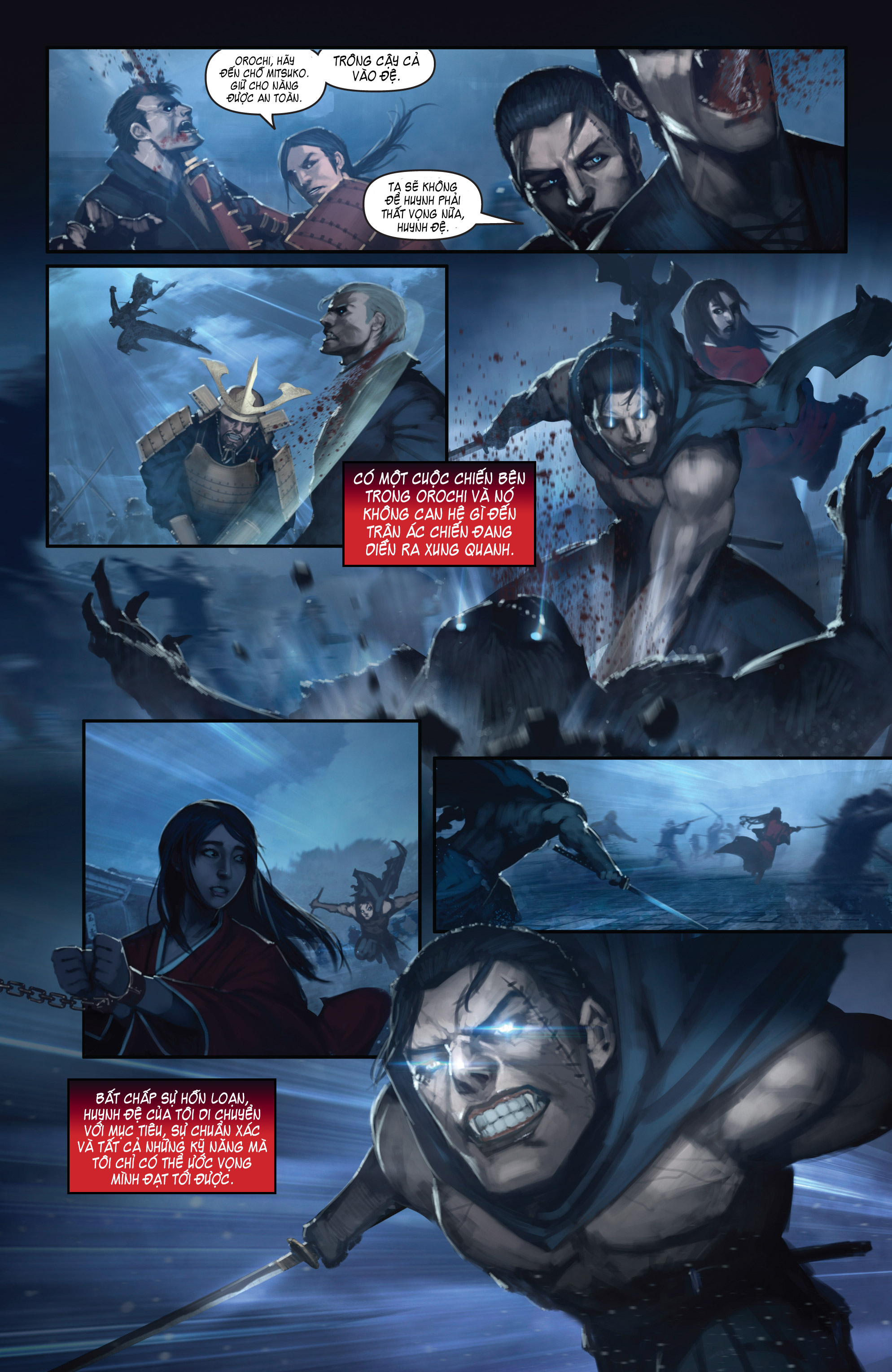 BUSHIDO - THE WAY OF THE WARRIOR chapter 5 - end trang 14