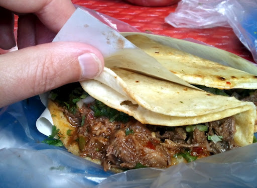 Taco de Birria de Res at Tacos Fitos