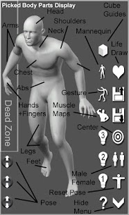 Manga Pose Tool 3D for iPhone, Android, Kindle, Windows Phone 8 ...