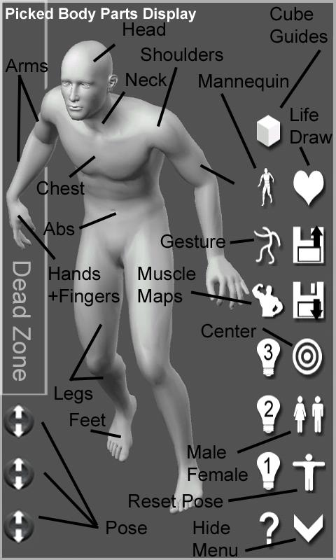 Pose Tool 3D - screenshot