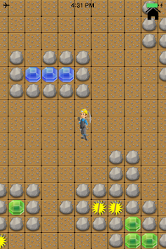 Gem Miner Search Find Treasure apk screenshot
