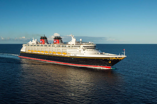 Disney-Magic-at-sea-3 - Disney Magic sails to the Bahamas, San Juan, Western Caribbean, Southern Caribbean, Northern Europe, Norwegian fjords, Iceland, Barcelona and elsewhere.