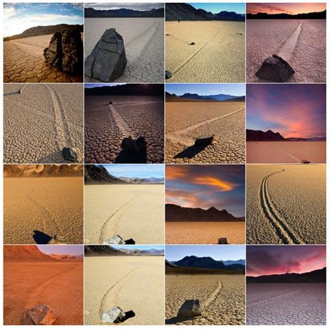 mistério das pedras que se movem sozinhas