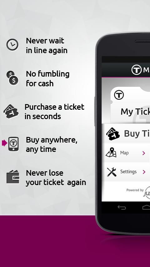 MBTA mTicket- screenshot