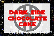 dark side chocolate cake