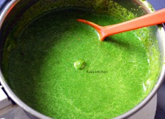 how to make green chutney for chaats
