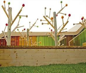 diseño de vegetacion Pabellón Español Floriade 2012