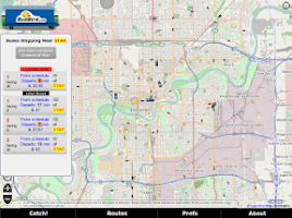 Screenshot of Busbird Pro - YEG Edmonton
