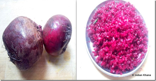 Beetroot recipe masala