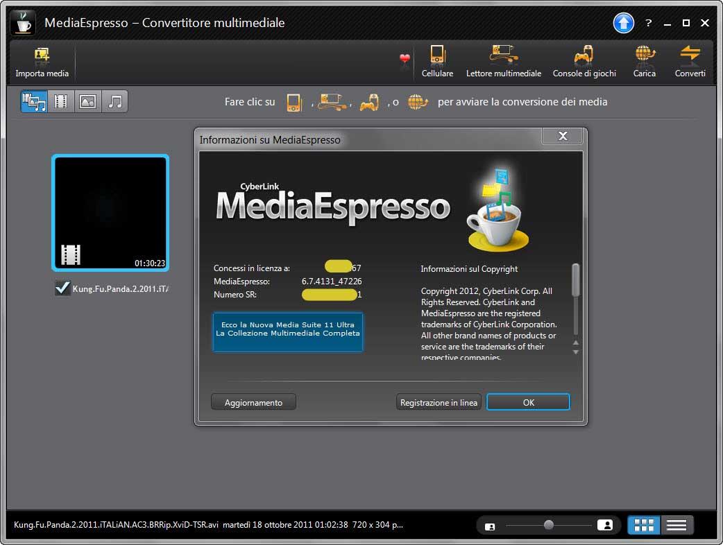 Cyberlink mediaespresso 6 5 2031 40777 rus with serial