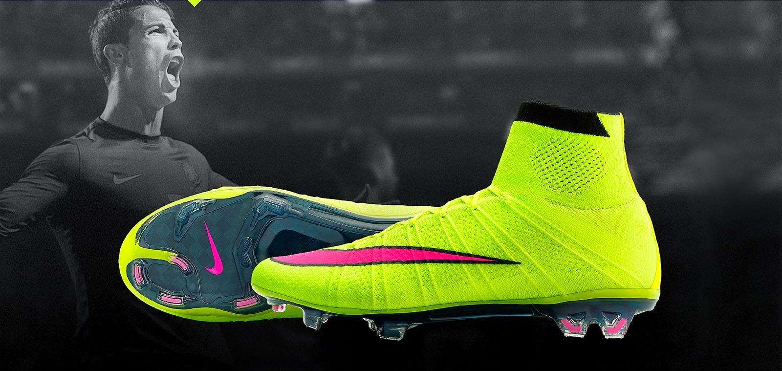 newest collection f5fbe cb2ef ... para los próximos meses de 2015, las Nike Mercurial Supefly Highlight  Pack, con un amarillo muy llamativo para destacar lo máximo posible en el  campo en ...
