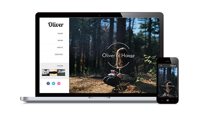 Template Oliver - Template Blogspot cá nhân tuyệt đẹp