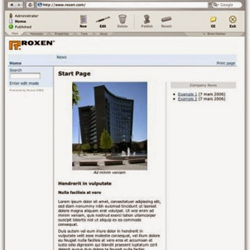 Roxen WebServer is a full-featured open-source web server distributed under the GPL license.
